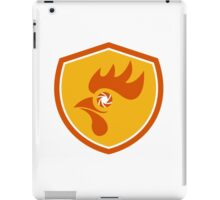 Rooster Eye Shutter Crest Retro iPad Case/Skin