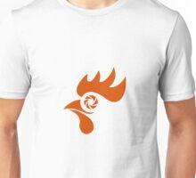 Rooster Eye Shutter Retro Unisex T-Shirt