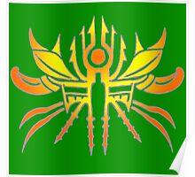 Tribal Aztec Sun Poster