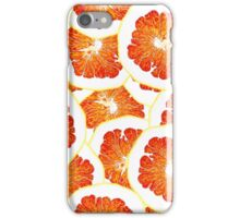 continuous pattern of orange slices iPhone Case/Skin