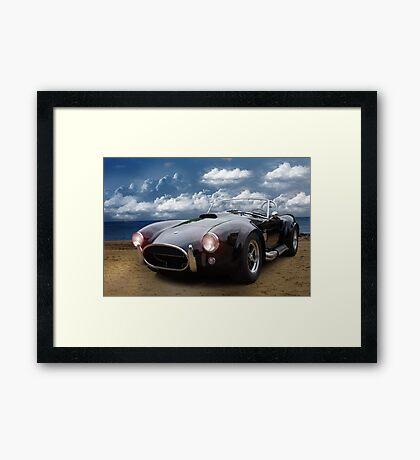 Auto Framed Print