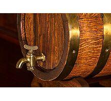 Beer Barrel Photographic Print
