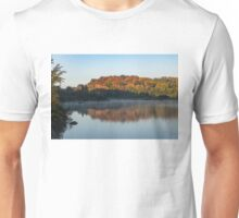 Misty Fall Morning -  Unisex T-Shirt