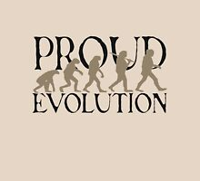 Proud Evolution Man Womens Fitted T-Shirt
