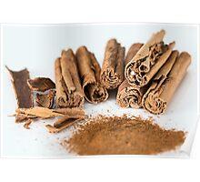 Cinnamon Stick Poster