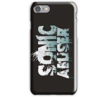 Sonic Abuser Blue iPhone Case/Skin