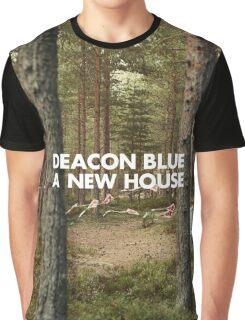 Deacon Blue A New House Album Graphic T-Shirt