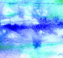 Watercolor texture, background, tie dyed. Sticker