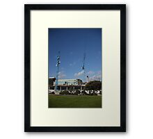 South East Water Frankston Office Construction 1 Framed Print