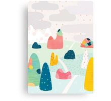 Rocky Road Canvas Print
