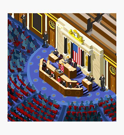 Election US Congress Hall Photographic Print