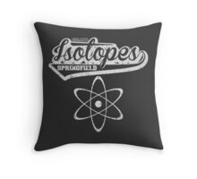 Springfield Isotopes Throw Pillow