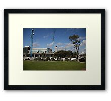 South East Water Frankston Office Construction 2 Framed Print
