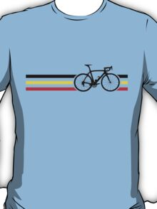 Bike Stripes Belgian National Road Race v2 T-Shirt