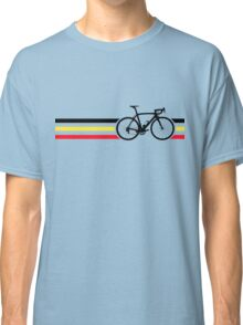 Bike Stripes Belgian National Road Race v2 Classic T-Shirt