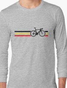 Bike Stripes Belgian National Road Race v2 Long Sleeve T-Shirt