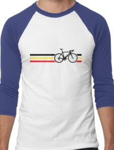 Bike Stripes Belgian National Road Race v2 Men's Baseball ¾ T-Shirt