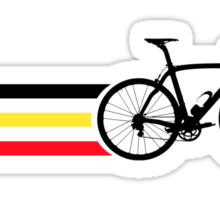 Bike Stripes Belgian National Road Race v2 Sticker