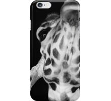 Giraffe Portrait iPhone Case/Skin