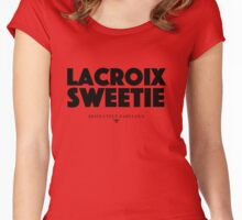 Absolutely Fabulous - Lacroix Sweetie Women's Fitted Scoop T-Shirt