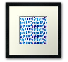 Watercolor texture, background, tie dyed. Framed Print