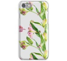 flowers lilies and alstroemeria iPhone Case/Skin