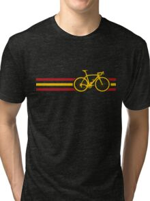 Bike Stripes Spanish National Road Race v2 Tri-blend T-Shirt