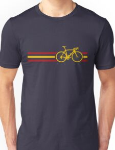 Bike Stripes Spanish National Road Race v2 Unisex T-Shirt