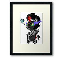 Chibi Sombra Framed Print