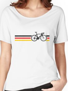 Bike Stripes German National Road Race v2 Women's Relaxed Fit T-Shirt