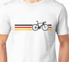 Bike Stripes German National Road Race v2 Unisex T-Shirt