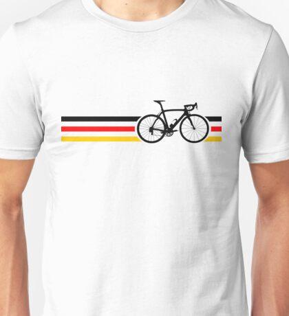 Bike Stripes German National Road Race v2 Unisex T-Shirt