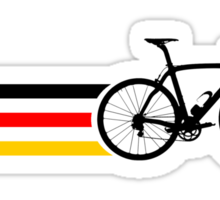 Bike Stripes German National Road Race v2 Sticker