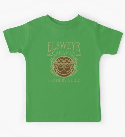 Elsweyr Traders Guild - Tees & Hoodies Kids Tee