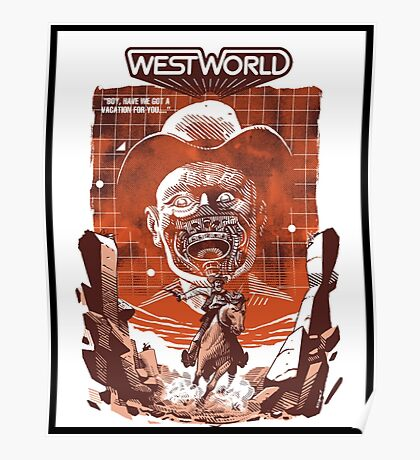 westworlds poster Poster