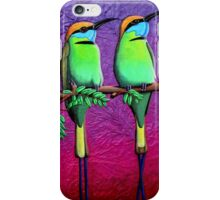 Green Bee-Eaters iPhone Case/Skin