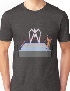 Ultimate Warrior pyro wrestling ring Unisex T-Shirt