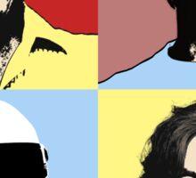 The Top Gear Team - POP Art Sticker
