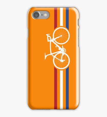 Bike Stripes Netherlands National Road Race v2 iPhone Case/Skin