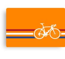 Bike Stripes Netherlands National Road Race v2 Canvas Print