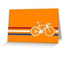 Bike Stripes Netherlands National Road Race v2 Greeting Card
