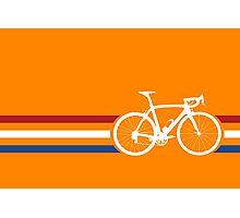 Bike Stripes Netherlands National Road Race v2 Photographic Print