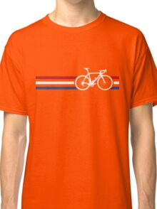 Bike Stripes Netherlands National Road Race v2 Classic T-Shirt