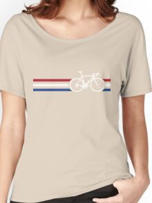 Bike Stripes Netherlands National Road Race v2 Women's Relaxed Fit T-Shirt