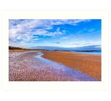 Vast - North Berwick Beach & The North Sea Art Print
