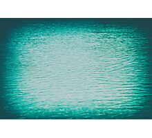 Clear And Calm Blue Ocean Water Photographic Print
