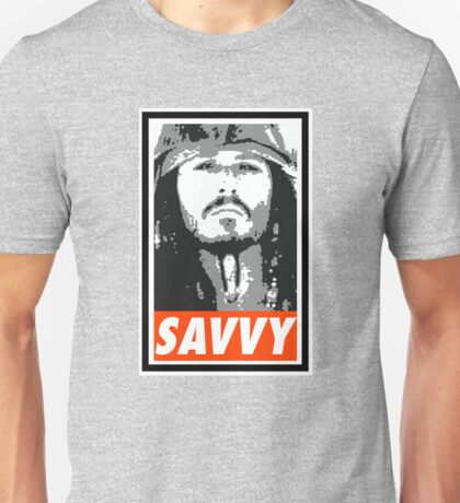 Savvy - Obey Style Unisex T-Shirt