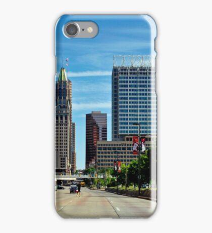Baltimore Skyline from Light Street  iPhone Case/Skin