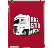 Top Gear - Rig Stig. The Stig's Lorry Driving Cousin iPad Case/Skin
