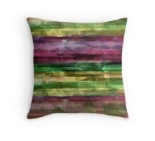 Colorful marble Throw Pillow